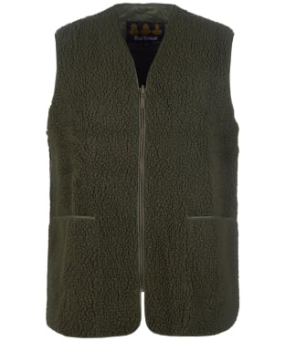 Men's Barbour Berber Fleece Liner - Sage