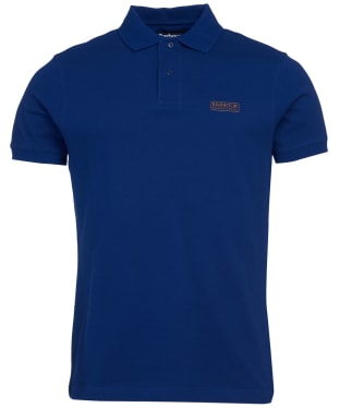 Men's Barbour International Essential Polo - Strong Blue