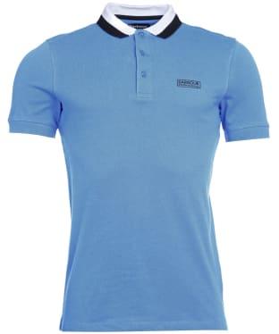 Men's Barbour International Ampere Polo - Powder Blue