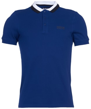Men's Barbour International Ampere Polo - Strong Blue