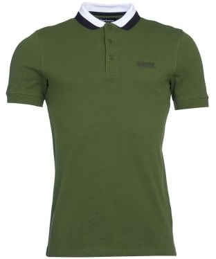Men's Barbour International Ampere Polo - Strong Olive