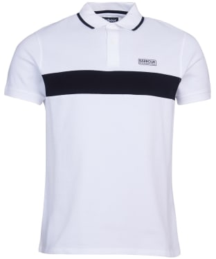 Men's Barbour International Block Stripe Polo Shirt