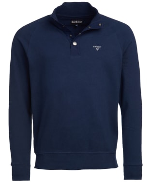 Men's Barbour Half Zip Sweater - Navy