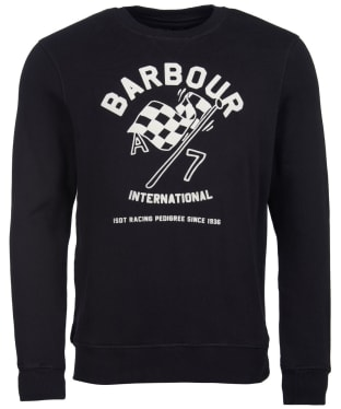 Men's Barbour International A7 Sweater - Black
