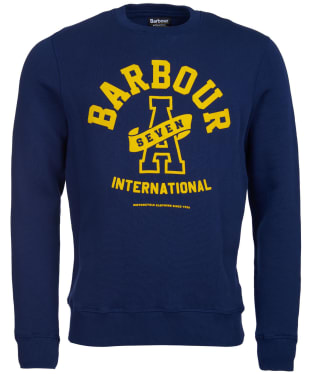 Men's Barbour International A7 Sweater - Regal Blue