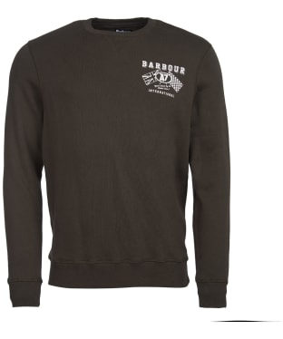 Men's Barbour International A7 Sweater - Forest
