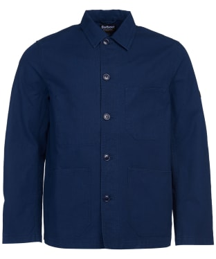 Men's Barbour International Utility Overshirt - Navy
