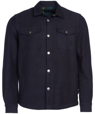 Men's Barbour Carrbridge Overshirt - Black