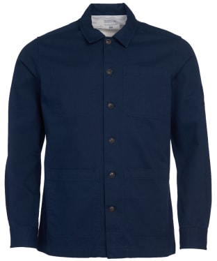 Men's Barbour International Steve McQueen David Overshirt - Navy