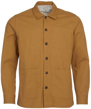 Men's Barbour International Steve McQueen David Overshirt - Camel