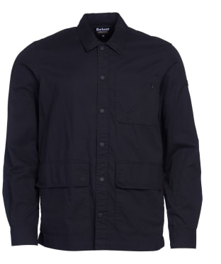 Men's Barbour International Tech Overshirt - Black