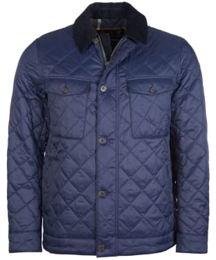 Men's Barbour Maesbury Quilted Jacket - Navy