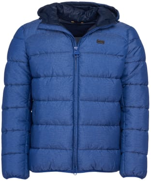 Men's Barbour International Court Quilted Jacket - Inky Blue