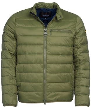 Men's Barbour International Seasons Baffle Quilted Jacket - Laurel
