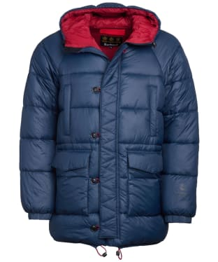 Men's Barbour Belgo Quilted Jacket - Navy