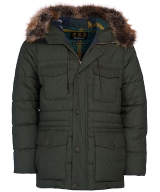 Men's Barbour Morton Quilted Jacket - Sage