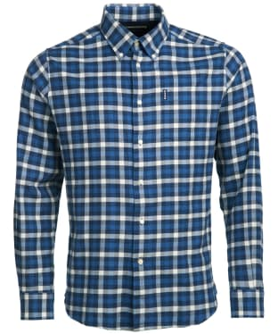 Men's Barbour Country Check 3 Tailored Shirt - Navy Check
