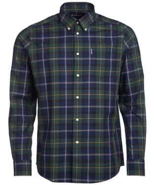 Men's Barbour Wetheram Shirt - Seawood Tartan