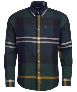 Men's Barbour Dunoon Shirt - Seawood Tartan