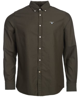 Men's Barbour Oxford 3 Tailored Shirt - Forest