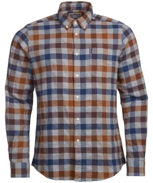Men's Barbour Country Check 5 Tailored Shirt - Copper Check
