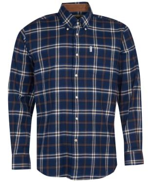 Men's Barbour Country Check 20 Regular Shirt - Blue Check