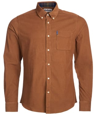 Men's Barbour Cord 2 Tailored Shirt - Sandstone