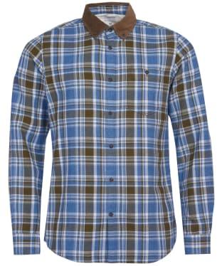 Men's Barbour International Steve McQueen Hilts Check Shirt - Beech Check