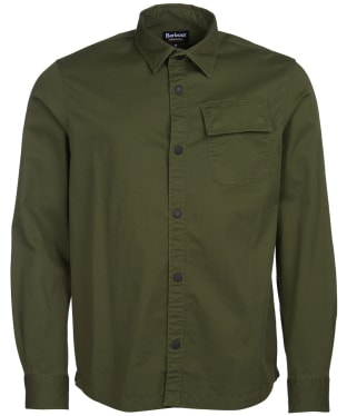 Men's Barbour International Angled Shirt - Strong Olive