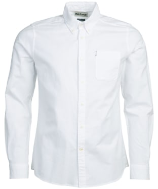 Men's Barbour Oxford 8 Tailored Shirt - White