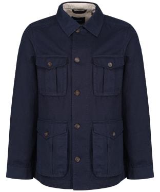 Men's GANT the Casual Field Jacket - Evening Blue
