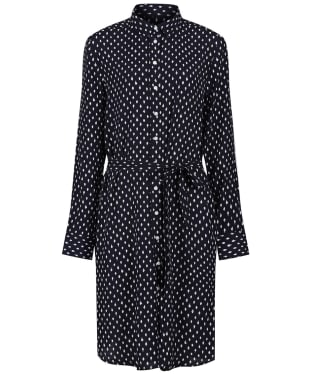 Women's GANT Desert Jewel Print Shirt Dress - Evening Blue