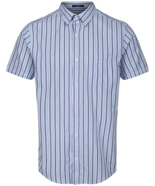 Men's GANT Windblown Oxford Stripe Shirt - Crisp Blue