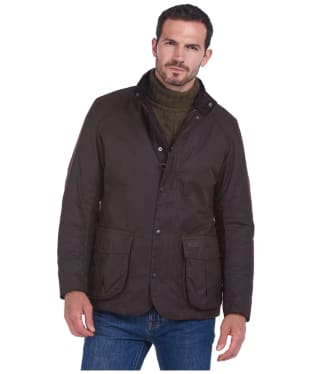 Men's Barbour Gilpin Waxed Jacket - Rustic