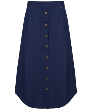 Women's Joules Orielle Solid Skirt - French Navy