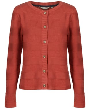 Women's Lily & Me Gabriella Knit Cardigan - Soft Brick