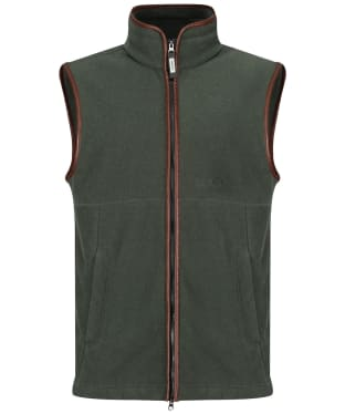 Men's Schoffel Oakham Fleece Gilet - Cedar Green