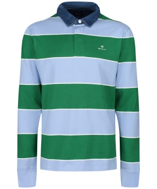 Men's GANT Multi Barstripe Heavy Rugger - Bluebell
