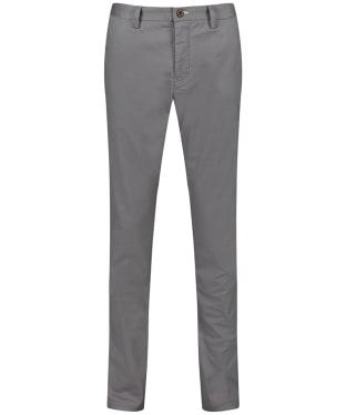 Men's GANT Slim Tech Prep Chinos - Steel Grey