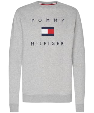 Men's Tommy Hilfiger Flag Sweatshirt - Grey Heather