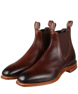 Men's R.M. Williams Chinchilla Boots - H (Wide) Fit - Bordeaux