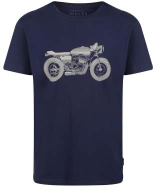 Men's Joules Flynn Tee - French Navy