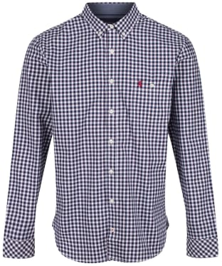 Men's Joules Abbott Classic Shirt - Blue / White Check