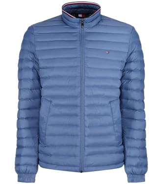 Men's Tommy Hilfiger Packable Down Jacket - Iron Blue