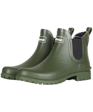 Women's Barbour Wilton Welly - Olive