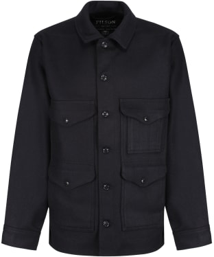 Men's Filson Mackinaw Wool Cruiser Jacket - Dark Navy