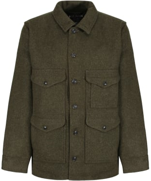 Men's Filson Mackinaw Wool Cruiser Jacket - Forest Green