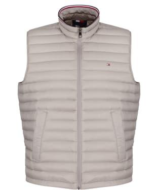 Men's Tommy Hilfiger Packable Down Vest - City Grey