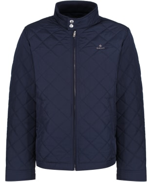 Men's GANT Windcheater Quilted Jacket - Evening Blue