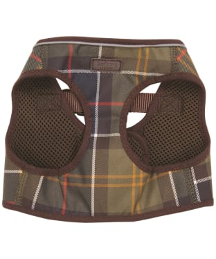 Barbour Tartan Step in Dog Harness - Classic Tartan